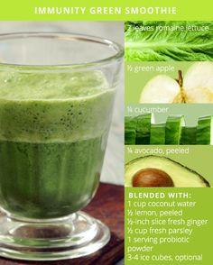 immunity green smoothie