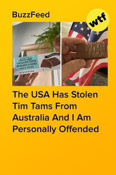This is an outright crime against Australians. I Can Tell, Told You So, Milk Duds, American Chocolate, Aussie Food, Tim Tam, Crime, Usa, Crime Comics