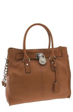 MICHAEL Michael Kors 'Hamilton Silvertone Chain - Large' Vertical Tote This one @joshsalazar :) Thanks