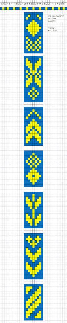 Wayuu Mochila Patterns - All Fiber Arts