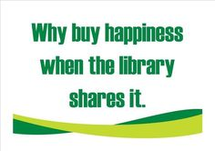 Use $ with a big cross on this library quote as the watermark or back ground illustration will send the message to the heart of our readers!