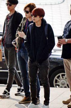 Jung Yong Hwa at Incheon airport heading to Bangkok (Thailand) 140502