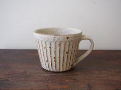 灰粉引 コーヒーカップ savi no niwa