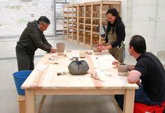 Impartió Juan Quezada taller de cerámica en el Cenart