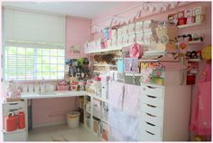 Yenni's Craft Room · Craft Room Tours · Cut Out + Keep