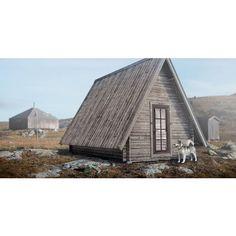 Baseco Stuga Tjakke 15 m2 - Garage & förråd | Buildor.se