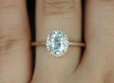 Beautiful Bachelorette-Inspired Oval Engagement Rings - Rosados Box