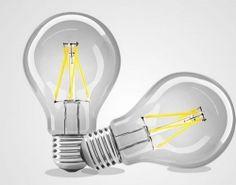 Strak LED Filament Clear Energy Star Dimmable - Case of 4 Lamp Bulb, Led Lamp, Energy Star, Light Bulb, Home Appliances, Bulbs, Vintage, House Appliances, Lightbulbs