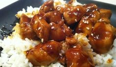 Best foods and recipes in the world: Delicious Bourbon Chicken Recipe. New Recipes, Cooking Recipes, Favorite Recipes, Yummy Recipes, Copycat Recipes, Dinner Recipes, Healthy Recipes, Bourbon Chicken, Chipotle Chicken