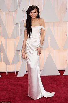 Speaking her mind:Zendaya is known for standing up for herself in particular for calling Giuliana Rancic out when she made racially insensitive comments about the actress' dreadlocks at last year's Oscars