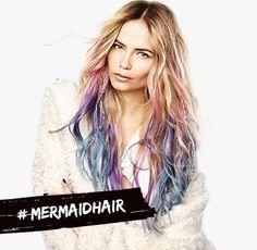 Spray colore per capelli #MERMAIDHAIR