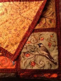 Bird Panes Quilt