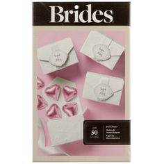 <div>Available exclusively at Michaels, these simple do-it-yourself embossed favor boxes come co...