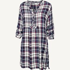 Isabel Rayon Check Tunic at FatFace $65