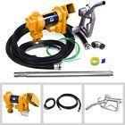 Fuel Transfer Pump 12 Volt 20 GPM Diesel Gasoline Kerosene Car Tractor Truck