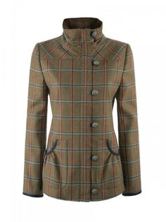 Bracken Women's Tweed Sports Jacket | Country Style Tweed Outdoor Jacket for Women