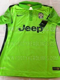 Nuevas camisetas del Juventus para la temporada 2014-2015