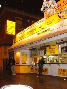 Heading to Chicago again for my birthday next week. The Original Maxwell Street Polish Hot Dogs.