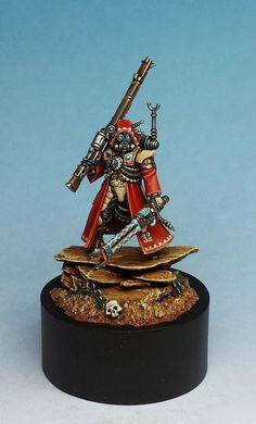 Skitarii Ranger Alpha, by Darren Latham.