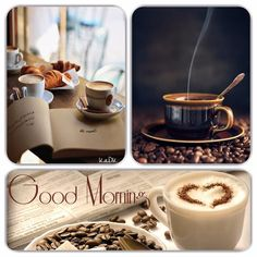 Good morning - Collage made by KaDK - https://www.pinterest.com/k5606/kadks-world-of-collages-and-moodboards/