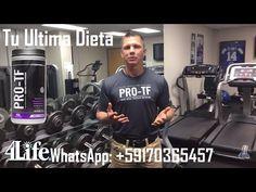 "PRO-TF con Chris Lockwood, PhD, CSCS 4Life ""Tu Ultima Dieta"" - YouTube"