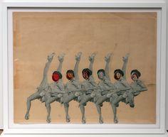"Dash Snow aka Dashiell ""Dash"" Snow (1981-2009, New York, USA) - Collage"