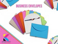 Business Envelopes #First #impression is the best impression. While sending your #business #mail, the #envelope is the first point of contact with your customer. Ensure your clients and customers to recognize the correspondence from your company at a glance by your business envelopes. Get quality #printing and #design service for your business envelopes! Our Kovai offset printers are here to provide on time services as per your needs.