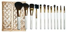 Tru Beauty 12pc Professional Makeup Brush Set Gold ** Read more reviews of the product by visiting the link on the image.