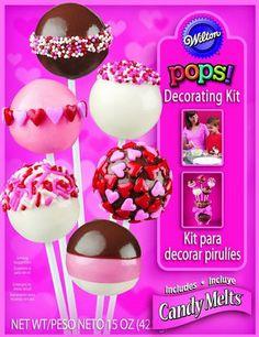 Valentine's Day Cake Pops Decorating Kit