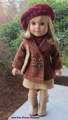 Fall Outfit for an 18 in. American Girl Doll