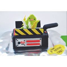 Awesome Ghostbusters cake