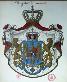 KIngdom of Roumania Michael I Of Romania, Coat Of Arms, World War Ii, Puppets, Royalty, Christmas Ornaments, Artist, Painting, Tuesday
