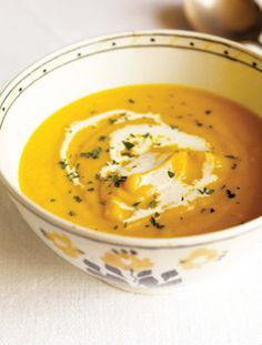 Fall #Recipe: Cream of Pumpkin Soup