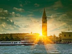 Venice at Sunset, Italy