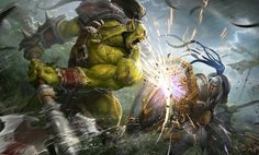Warcraft Heroes, Warcraft Orc, World Of Warcraft Game, Fantasy Dragon, Fantasy Warrior, Fantasy Art, Blizzard Warcraft, Cyberpunk, Wow World
