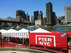 BBQ & Drinks in the middle of the East River under the 59th Street Bridge??? Oh Yesssss!!!!