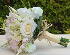 Ella Bridesmaid's Bouquet - Artificial Bouquet - Wedding Flowers - Bloomroom Designs on Etsy, $90.00 AUD