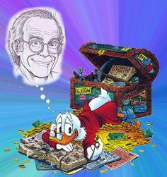 Ο Don Rosa μιλάει στο ΟΝΕΜΑΝ - Στο ράφι - ΔΙΑΣΚΕΔΑΣΗ   oneman.gr Don Rosa, Scrooge Mcduck, Joker, Couch, My Favorite Things, Disney, Pictures, Fictional Characters, Art