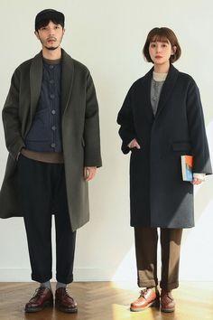 SERIES Fashion Couple, Look Fashion, Winter Fashion, Mens Fashion, Fashion Outfits, Fashion Design, Couple Outfits, Casual Outfits, Men Casual