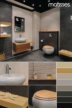 Si el baño del hogar está diseñado a partir de colores neutros y fríos como el gris, puede incluir detalles en madera para romper con la monocromía y otorgar pequeños puntos visuales. ¿Te gusta este tipo de baño?