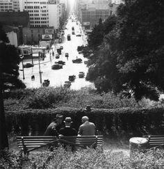 Los Angeles by Ansel Adams, 1940s