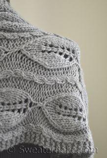 #190 Kinsley Chunky Scarf PDF Knitting Pattern #knitting #SweaterBabe.com