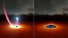Runaway Star Might Explain Black Hole's Disappearing Act | NASA