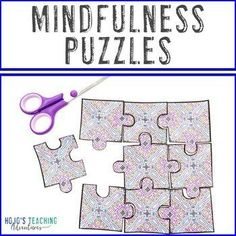 Mindfulness Coloring Pages: Use in Packets for Social Emotional Learning Support |10th, 11th, 12th, 2nd, 3rd, 4th, 5th, 7th, 8th, 9th grade, Activities, Adult Education, Character Education, Classroom Community, Classroom Management, Fun Stuff, High School, Higher Education, Homeschool, Middle School, Printables, Staff