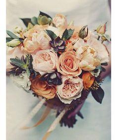 11 Beautiful Bouquets for a Fall Wedding. - Dujour