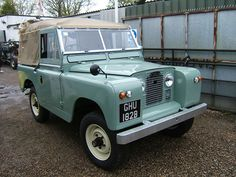 Land Rover Serries 2a Refurbished by Liveridge 4x4