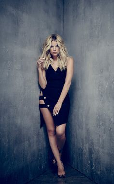 Ashley Benson - E! Online exclusive shots from BTS of the new PLL Poster