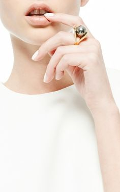 Pinball Ring by Lele Sadoughi for Preorder on Moda Operandi