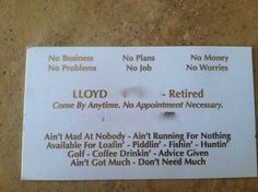 Business Cards Retired My Dad Giving Year Old Dads Make Me Smile Just