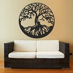 Tree of Life Wall Decal Home Decor Tree Wall Sticker Living Room Decor Bedroom Vinyl Wall Art (Black,m), http://www.amazon.ca/dp/B01DRLNFXW/ref=cm_sw_r_pi_n_awdl_esTDxbWX69QR3